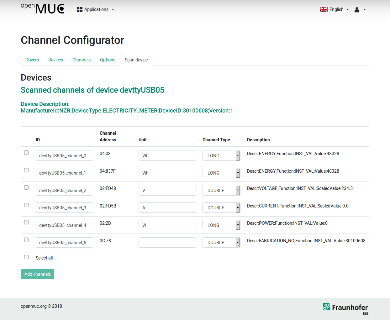 OpenMUC User Guide – OpenMUC